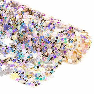 Nrpfell éToile de Mer Flocon de Neige Gommage Tapis à ongles Salon Pratique Coussin Oreiller Paillettes Pliable Coussin Manucure Arts des ongles Tapis de Table Outil-E