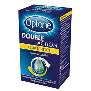 Optone Double Action Yeux Irritées 10 ml