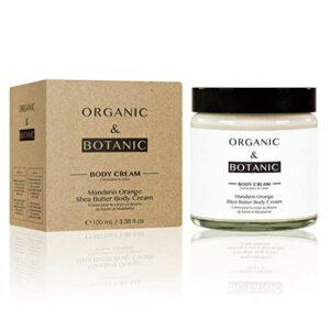 ORGANIC&BOTANIC Crème pour le Corps au Beurre de Karité/Mandarine