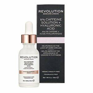 Revolution Skincare Sérum Ciblé sous les Yeux 5% de Caféine, 30 ml