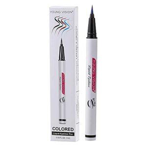 Sannofair Crayon Eyeliner Imperméable Séchage Rapide Longue Durée Yeux Résistant à la Transpiration Lisse Eyeliner pour Femme Fille Maquillage Cadeau