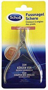 Scholl Paire de ciseaux pour les ongles des pieds