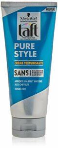 Schwarzkopf – Taft – Crème Cheveux Texturisante – Pure Style – Fixation Forte – Longue Durée – Tenue 24h – Coiffant Cheveux – 100 ml