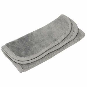 Serviette de toilette confortable pour le visage Lingettes de soins de la peau à usage domestique pour une utilisation quotidienne pour une utilisation en salon de beauté(gray)