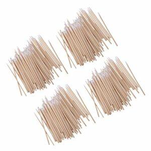 Sharplace 400pcs 10cm Cotons-tiges en Bois et Cotton Pour Maquillage/Soins du Corps