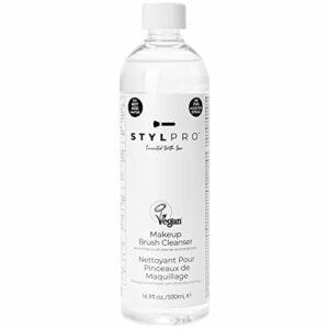 stylPro Nettoyant pour Pinceaux de Maquillage, 500 ml