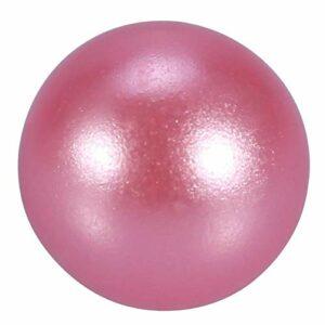 Surebuy Organisateur de Maquillage Perle, Perle Artificielle de Couleur Brillante Blanche et Rose pour Organisateur de Maquillage pour décorations(Rose)