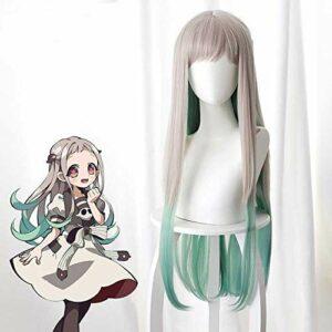 Toilettes lié Jibaku Shounen Hanako-kun Yashiro perruque cosplay Nene Mode Costumes Cosplay Manteau, personnalisé parfait for vous!L Nene BJY969 (Color : Wig, Size : S)
