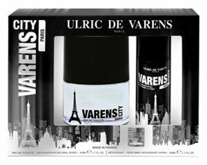 Ulric de Varens Coffret Varens City Paris Eau de Toilette 50 ml + Déodorant 50 ml