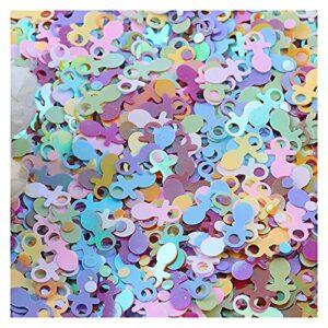 WEIMEIDA LPIAN817 10G Pacificateurs Saisisss Forme pour Artisanat Mini Spangles Paille De Pauche Douche Baby Douche DIY Couture Scrapbooking Confetti DIY Décor (Color : Mixed Color)