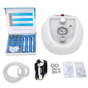 Wosune Machine de microdermabrasion, Machine de Nettoyage du Visage Pratique pour Le Visage pour Les Yeux pour Le Cou pour la Poitrine pour Le Nez pour Le Front(Traduire)
