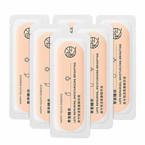 30Pcs Essence hydratante vitalité biologique à l'acide hyaluronique – Hydratant, éclatant, rétrécissant les pores, éclaircissant le teint, raffermissant la solution pour le visage de la peau