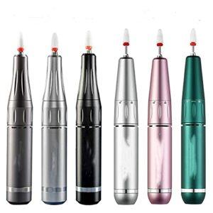 3500 0RPM Machine de manucure électrique USB Perceuse à Ongles for Ongles acryliques Gel Polonais Professional E-File Milling Files Ongles Tool de Salon (Color : 35000RPM-Grey-N7, Size : USB)