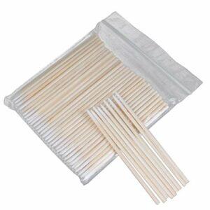 ABOOFAN Lot de 6 paquets de cotons-tiges jetables multi-usages pour le nettoyage de la greffe des cils et du maquillage (300 pièces dans 1 paquet)