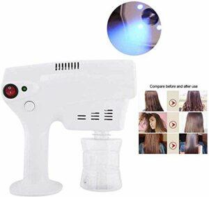 Alittle Spray Gun Nano Spray Machine 260ML Multifonctionnel fixatif Nano Mister Hair Steamer, Hair Nano Coloration Dye steamer Humidifier Hydrate la beauté des cheveux