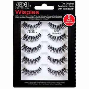 ARDELL 5 Pack Demi Wispies Black Faux-cils