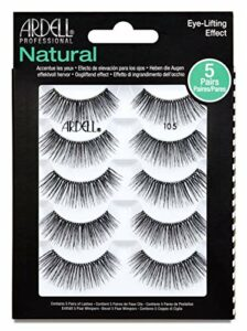 ARDELL 5 Pack Natural 105 Black Faux-cils