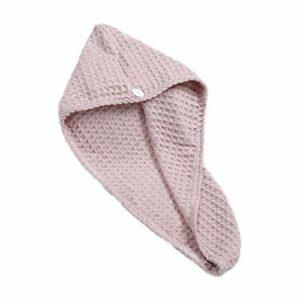 Bonnet de douche pour femme – Super absorbant – Pour cheveux secs – Turban – Séchage rapide – Pour la maison – Articles de toilette