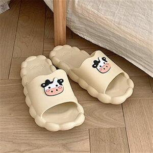 BXSM Pantoufles Douces et Confortables Été Chaussons de Bain de Bain Anti-déodorant Anti-déodorant de Dessin animé (Color : C, Size : 40/41)