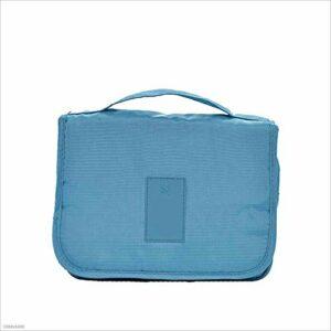 Chyuanhua Trousse de Toilette Sac De Transport Multifonction Conçu pour Les Femmes (Color : Blue)