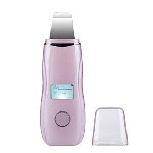 CloverGorge Instrument de beauté à ultrasons LCD Machine de Peau de Pelle Nettoyage des Pores Instrument de Nettoyage des Points Noirs Machine de Peau de Pelle