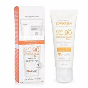 dgtrhted SPF50 + suncreen rayonnement UV Protection Solaire hydratante Lotion Whitening Crème Solaire Soins de la Peau