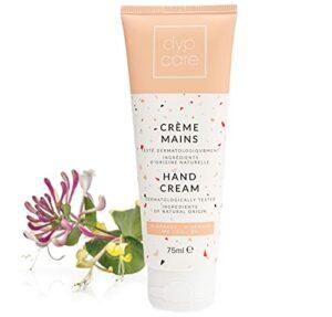 Dypcare Crème Mains Minéraux Réparatrice Hydratant Mains Abimée niacinamide Peaux Sèche,75ml