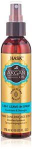 HASK 5en1 Huile d'Argan Spray Soin sans Rinçage, 175 ml, 1 Unité