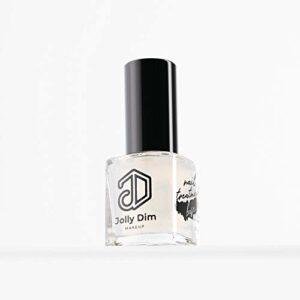 Jolly Dim by Inglot Base fortifiante pour ongles. Renforce les ongles fragiles et abîmés. Base fortifiante