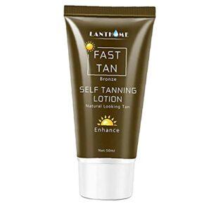 Lanthome Autobronzant Visage Corps Sunbed Crème Améliorer La Peau Hydratation Lotion Nourrissante Pour 50 Ml Soins De La Peau Du Corps