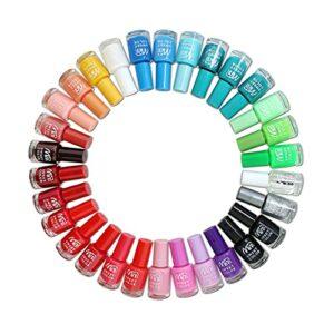 Lot de 24vernis à ongles avec plus de 22 couleurs vives différentes – Parfaite idée cadeau
