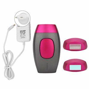 Machine d'épilation du visage, Machine d'épilation du corps facial unisexe portable Machine d'épilation du corps du dispositif pour homme femme 100-240V(UE)