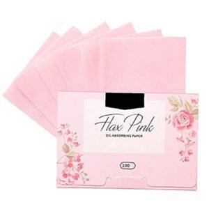 Maquillage en papier Papier Document de contrôle de l'huile Absorbant les tissus Toile Huily Skin Soins 100pcs Fournitures de beauté