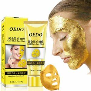 Masque visage Balight Gold Peel Nettoyant points noirs Masque anti-âge raffermissant pour la peau