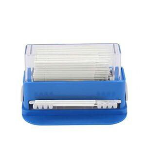 Micro pinceaux applicateurs jetables pour extensions de cils – Pour maquillage, nail art et peinture, oral et dentaire – Blanc