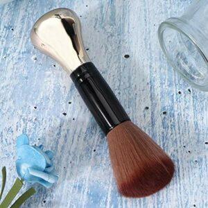 Outil de coupe de coiffure Outil de coiffure Outil de coiffure Brosse à cheveux de nettoyage pour le voyage pour la beauté pour le ménage(or)