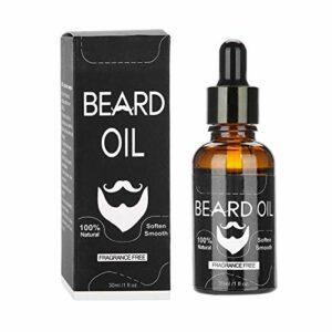Rehausseur fiable de moustache d'huile de barbe d'hommes 30 ml pour la beauté pour un usage quotidien(Animal, Tasteless)