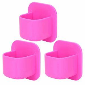 Restokki Support d'éponge de Maquillage en Silicone Support d'éponge cosmétique Support de houppette de séchage Support d'éponge cosmétique(Rose Rouge)