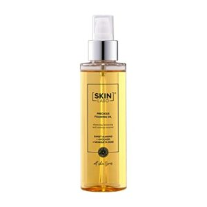 SkinLabo – Huile précieuse détergente pour le visage. Nettoie en douceur et en profondeur. Enlève le maquillage waterproof. Convient aux peaux mixtes et grasses. 150 ml.