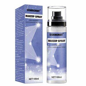 Spray Fixateur de Maquillage, Makeup Setting Spray, Fixateur de Maquillage en Spray, Makeup Spray, Makeup Spray Fixateur, Finish Matte et Contrôle de l'huile Longue Durée Hydratant, 100ml