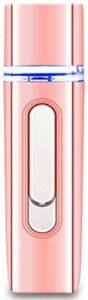 WGZL Visage Nano pulverisateur,Outil hydratant pour la Peau du Vaporisateur Facial Nano protable pour Extensions de Cils, Nettoyage ionique en Profondeur